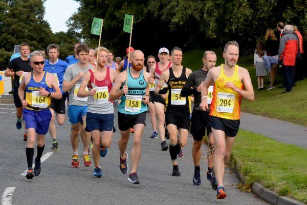 Macc Half Marathon 2018, Mile 1, Photo Credit Bryan Dale