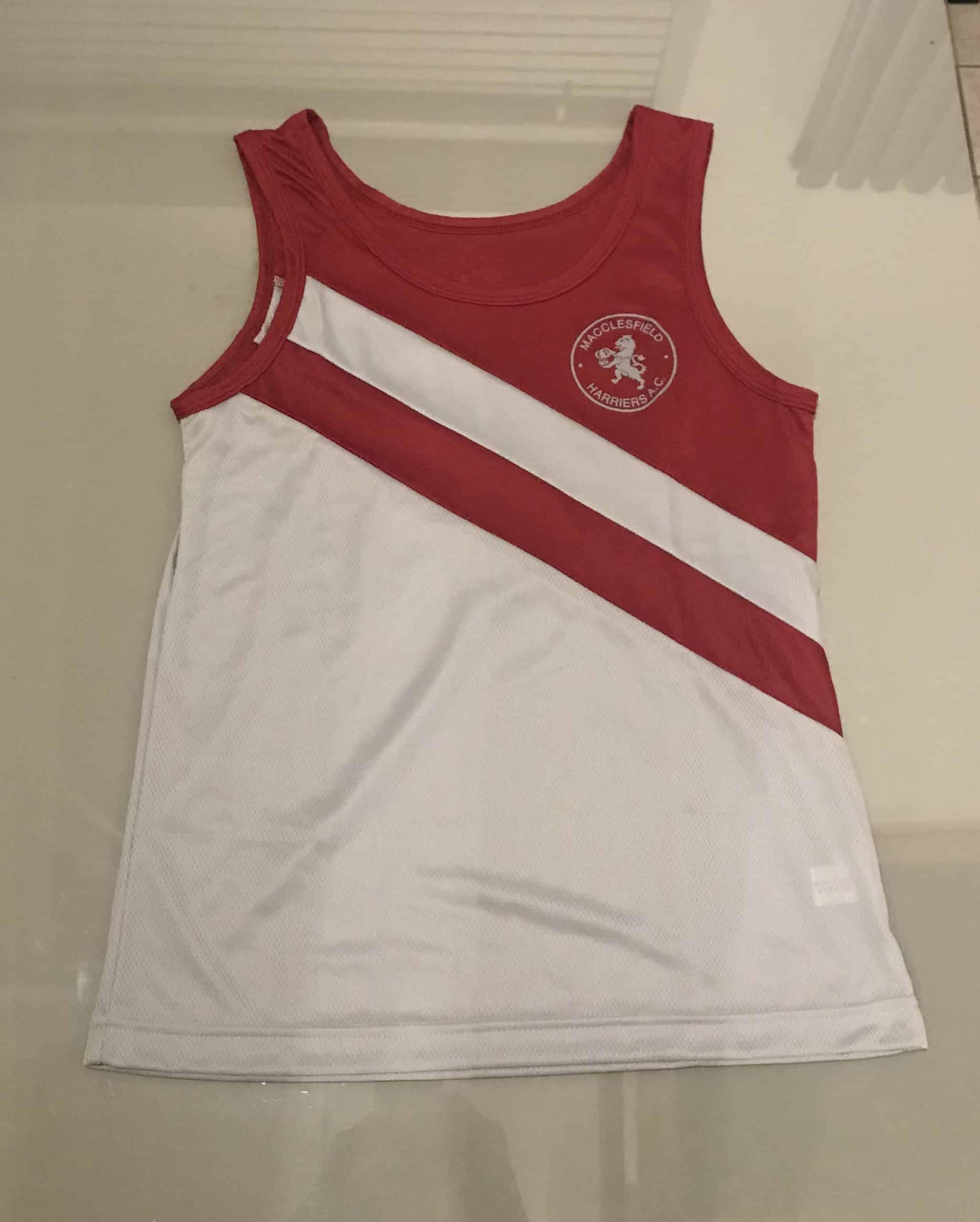 Macclesfield Harriers Club Vest